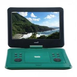 13in PORTABLE DVD PLAYER, TEAL