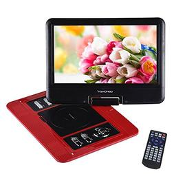 "DBPOWER 13.3"" Portable DVD Player, 2 Hours Rechargeable Batt"
