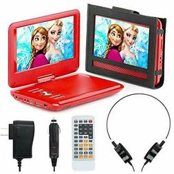 """Portable DVD Player For Car, Plane """" More - 7 Travel Accesso"""