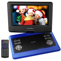 DBPOWER 10.5-Inch Portable DVD Player with Rechargeable Batt