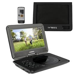 "ZESTYI 10"" Portable DVD Player for Kids with Car Headrest Mo"