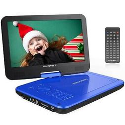"DBPOWER 10.5"" Portable DVD Player with Rechargeable Battery,"