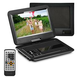 Portable DVD Player with 10.1 inches LCD Screen and Recharge