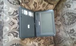 portable SYLVANIA DVD Player with carrier bag, charger,and r