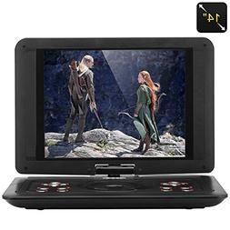 14 inch portable dvd players with HD screen USB SD function