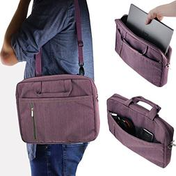 Navitech Purple Carry Case / Cover Bag For Portable dvd play