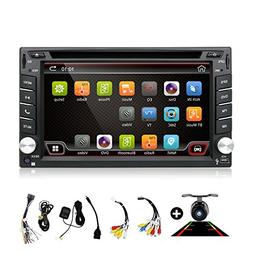 Double Din Car Stereo,Android 6.0 Autoradio with 2G 32G Quad