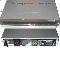 LG RC199H Super Multi Format DVD Recorder / VCR Combo Player
