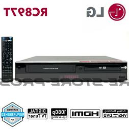 rc897t dvd vcr combo player vhs to