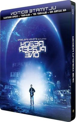Ready Player One 4k 3D 2D Blu-ray SteelBook LIMITED EDITION
