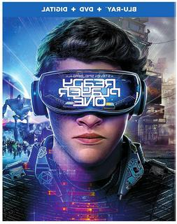 READY PLAYER ONE Blu-ray + DVD + Digital HD BRAND NEW + Comp