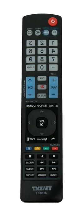 New Replace Remote Control ULG901 for LG TV Blu-ray DISC DVD