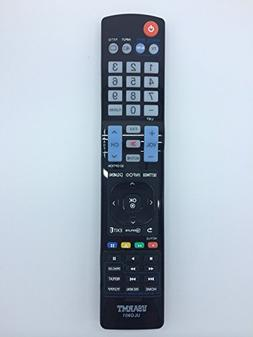 VINABTY New Replaced Remote fits for LG TV Blu-ray DVD playe