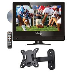 """Supersonic SC-1312 13.3"""" LED Widescreen HDTV with DVD Player"""