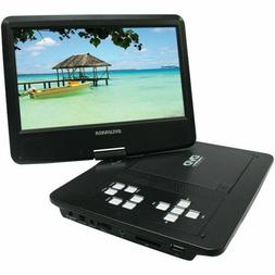 "SYLVANIA SDVD1030 10"" Swivel-Screen Portable DVD Player"
