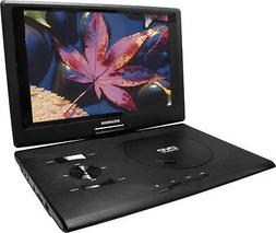 "SYLVANIA SDVD1332 13.3"" SWIVEL-SCREEN PORTABLE DVD PLAYER"