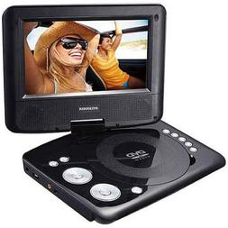 "Sylvania SDVD7029 Portable DVD Player with 7"" Swivel Screen"