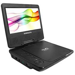 sdvd7078 portable dvd player 7 swivel screen