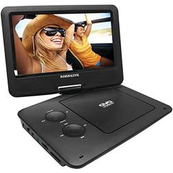 "SYLVANIA SDVD9020B-BLACK 9"" Portable DVD Players with 5-Hour"