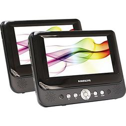 "Sylvania SDVD9957 Portable DVD Player with Dual 9"" Screen"