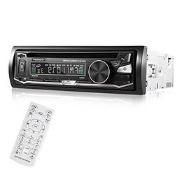 CATUO Single Din Car Stereo Receiver, 12V Bluetooth DVD/CD M