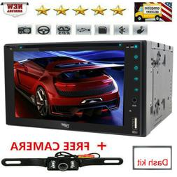 For Sony Lens Double 2DIN Touch Bluetooth DVD/CD Player Car
