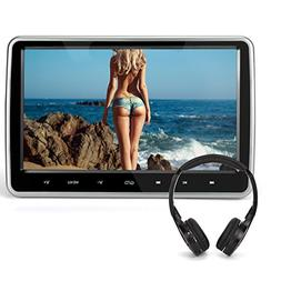 """10.1"""" Headrest DVD Player for Car & Home Use Support HDMI In"""