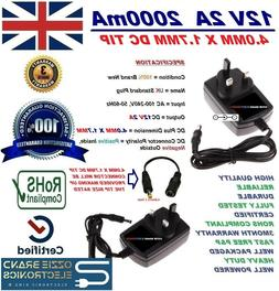 To Fit DBPOWER MK101 Portable DVD Player Power Supply Adapte