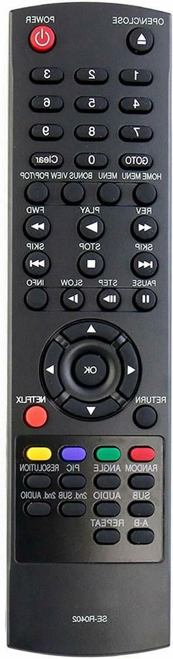 Toshiba Replacement SE-R0402 Remote Control for Blu-Ray Play