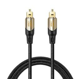CableCreation 25 Feet Toslink Male to Toslink Male Digital O
