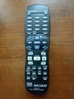 Tascam TV/DVD Remote Control Unit RC-D01U New Replacement fo