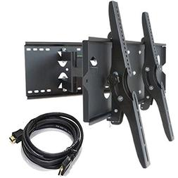 2xhome – NEW TV Wall Mount Bracket  + FREE HDMI cable –