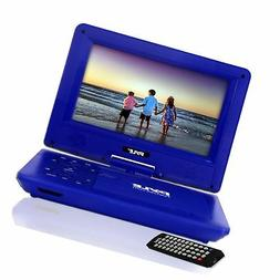 Upgraded 2017 Pyle 9 Inch Portable Travel  DVD Player, Use a