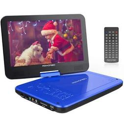 【Upgraded】 DBPOWER Portable DVD Player with 10.5'' HD Sw