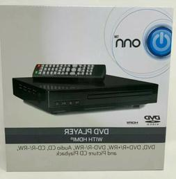 ONN UPSCALING HDMI DVD PLAYER W/REMOTE