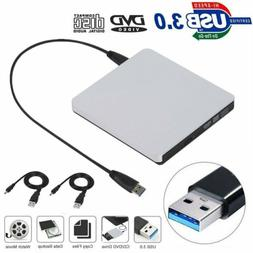 USB 3.0 External Combo Optical Drive CD/DVD Player Burner fo