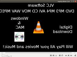 VLC Media Player Play DVDs CDs Stream Media YouTube Fast Dig